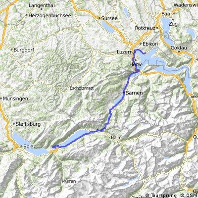 2013-07-27: Interlaken - Luzern