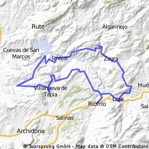 Ruta Bici De Las Tres Provincias J.Rama