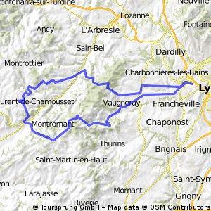 Tassin - St Laurent de chamousset