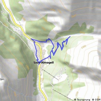 Rundwanderweg Saas Almagel