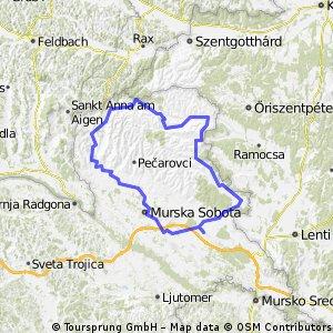 Cycled 06.11.2013 (Prekmurje-Goričko)-(Slovenia)