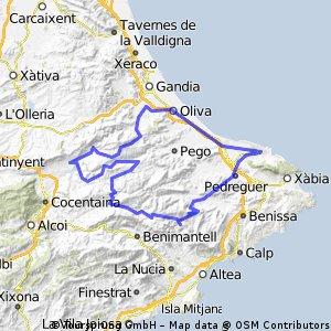Llacuna - L¡Orxa - Xap - Tollos - Observatori Coll de Rates