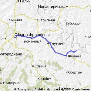 Пещеры и водопад Девичьи слёзы на Днестре