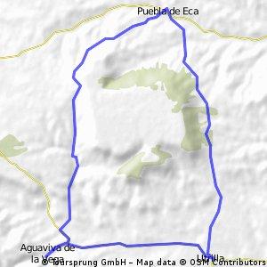 Vuelta al Moedo por barranco Tarodilla
