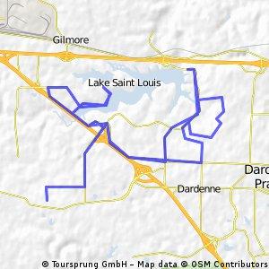 Lake St. Louis Triathlon Long Course