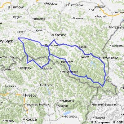 Bieszczady i trochę Słowacji 2011.