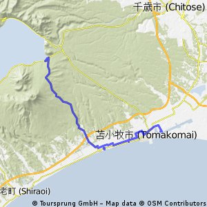 Japan 2013, Day2, Tomakomai - Lake Shikotsu