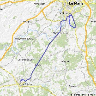 TDF 19 LA FLECHE - LE MANS (ITT)