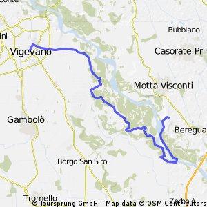Da Zelata a Vigevano
