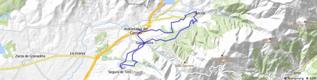 Ruta del Bosque - Aldeanueva del camino