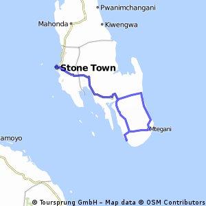 StoneTown- (Zanzibar City) to Jambiani (via Kizimkazi)
