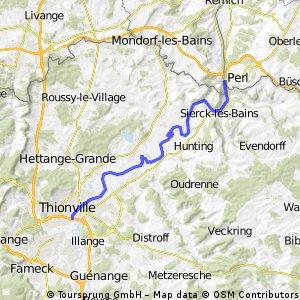 Remerschen - Lausanne