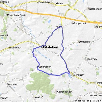 Seehausen- Wormsdorf - Hakenstedt- Seehausen