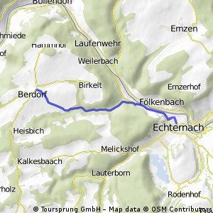 Verlängerung Echternach