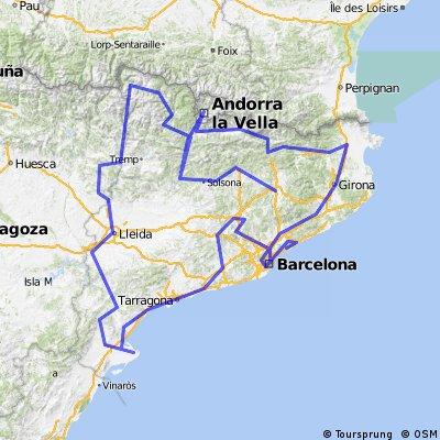 Super-Ruta Catalunya-Andorra-Catalunya