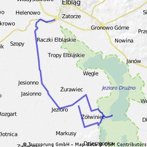 Wycieczka Nr 2 - Wieża widokowa nad J. Drużno - 19.04.09