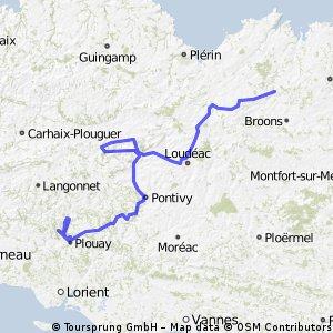 7 Jugon-les-Lacs - Plouay