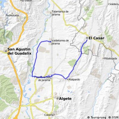 El Casar-Alalpardo-Fuente El Saz-Valdetorres