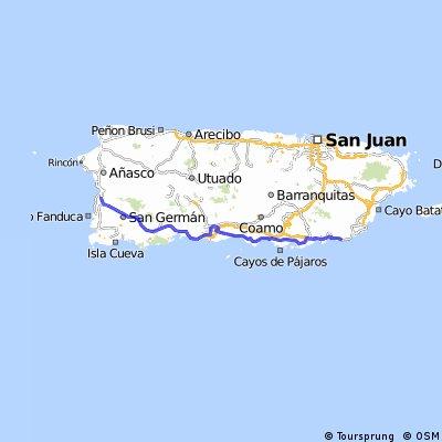 Vuelta a Puerto Rico - Etapa 1 (Mayaguez a Patillas)
