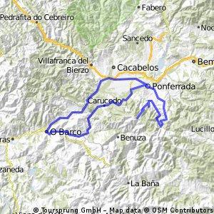 Ponferrada-Montes de Valdueza