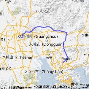 Lhasa to Hong Kong