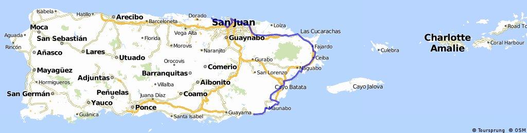 Vuelta a Puerto Rico - Etapa 2 (Patillas - Dorado)