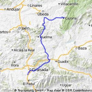 7ª Eta Alhendin , L Iruela 170 km