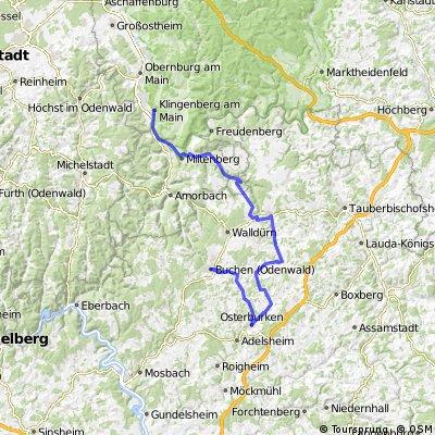 3-Länder-Rad-Event = Buchen-Klingenberg/Karl1