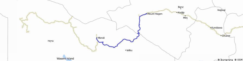 Mendi- Mount Hagen