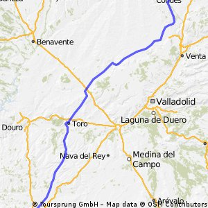 Villalcázar de Sirga - Salamanca