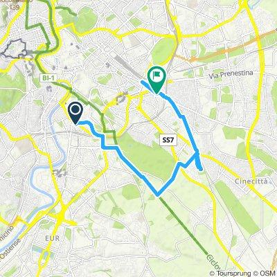 l Giretto Vedi Roma in bici e Natura amici-Gemellaggio-