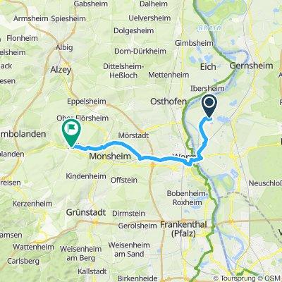 Hessen - Pfalz Route