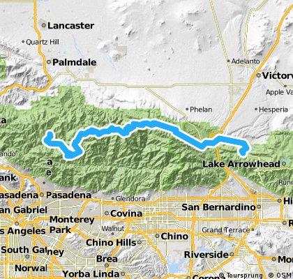 27-past Palmdale to Silverwood Lake alternate