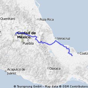 Recorrido 4-12 de Diciembre Soconusco-Cd. de Mexico-Soconusco