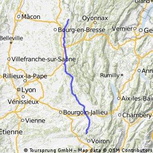Stage 20 Chirens - Treffort 115km