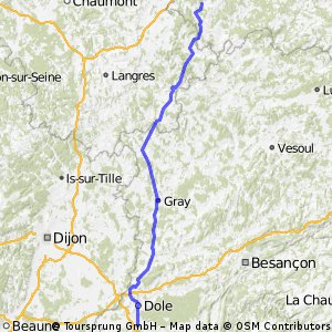 Stage 22 of 26 Parcey - Lamarche 145km