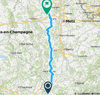 Stage 23 Martigny-les-Bains - Landres 178km