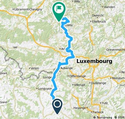 Stage 24 Landres (FR) - Boulaide (LUX) 103km