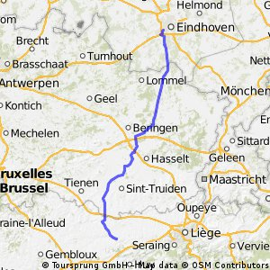 Stage 26 of 26 Latinne (BE) - Eindhoven (NL) 114km