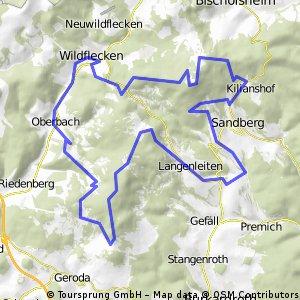 Wildfleckener Südrhöntour