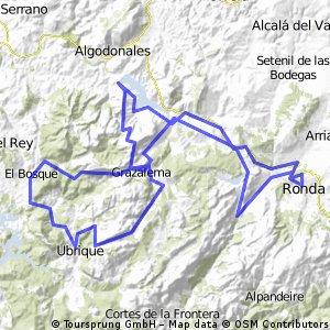 Ronda-Las Palomas-El Boyar-Ronda