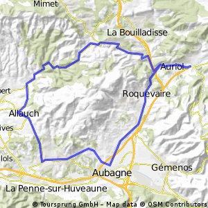 Tour du Garlaban