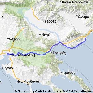 Tessalònica - Nea Peramos / 21-11-2013