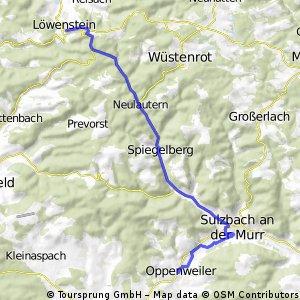 Oppenweiler-Löwenstein ü. Lautertal