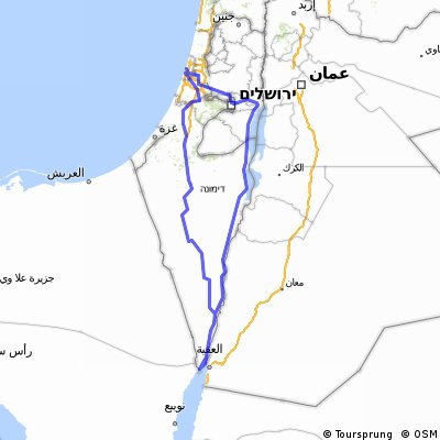 Cycling routes and bike maps in and around Tel Aviv Bikemap Your