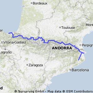 Pyrenäenquerung 2013