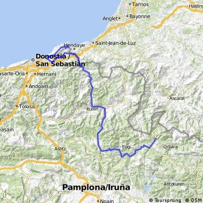Traversata dei Pirenei: 8^ tappa (alternativa)