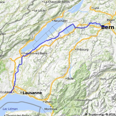 Morges to Bern