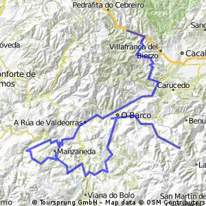 Vega de Valcarce - Fonte da Cova-Pena Trevinca