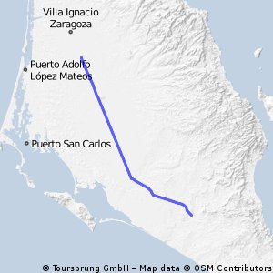Las Pocitas - Insurgentes 125km